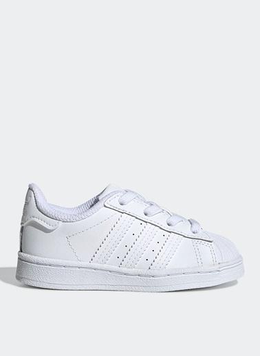 adidas Adidas Ef5397 Superstar El I Bebek Yürüyüş Ayakkabısı Beyaz